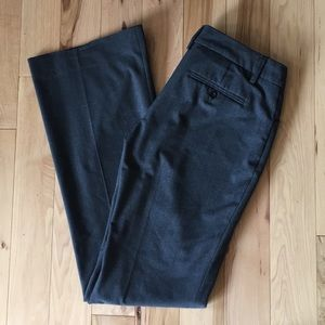 Gap perfect trouser pant gray